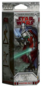 Star Wars Miniatures Galaxy at War - Booster Pack - Wizards Miniatures Team