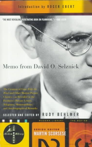 Memo from David O.Selznick - David Selznick