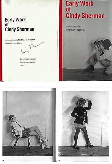 Early Work of Cindy Sherman (SIGNED by Cindy Sherman) - SHERMAN, Cindy